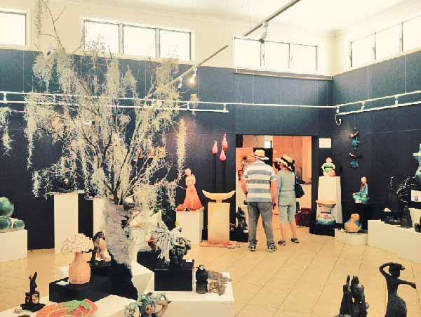 The Sculptured Garden Exhibition Buderim Craft Cottage