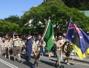 Anzac Day on Buderim