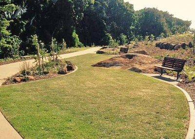 Buderim Village Park path2